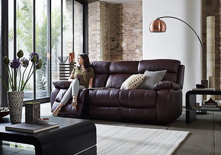 Moreno Leather Recliner Armchair World Of Leather Furniture Village