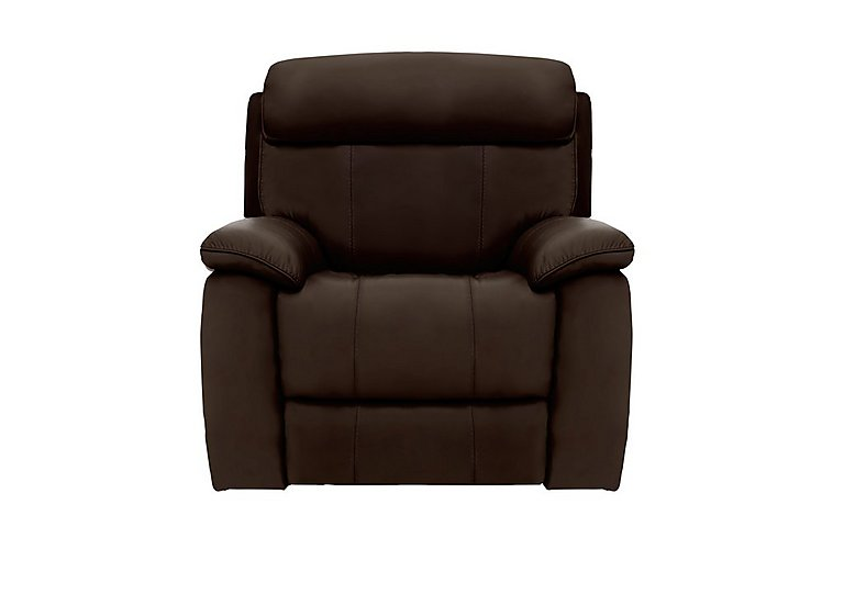 Good Moreno Leather Recliner Armchair