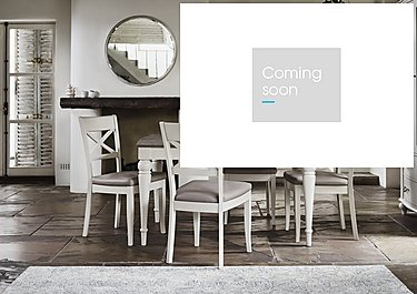 Annecy Extending Dining Table and 4 Crossback Chairs in  on Furniture Village