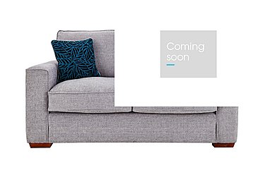 Dune 2 Seater Fabric Sofa in Barley Silver All Over Lt Feet on Furniture Village