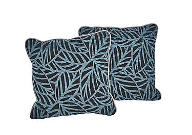 Dune Pair of Scatter Cushions in Ronda Teal on Furniture Village