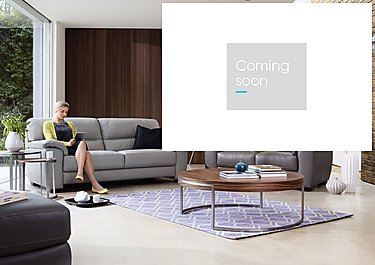Shades 3 Seater Leather Sofa in  on Furniture Village
