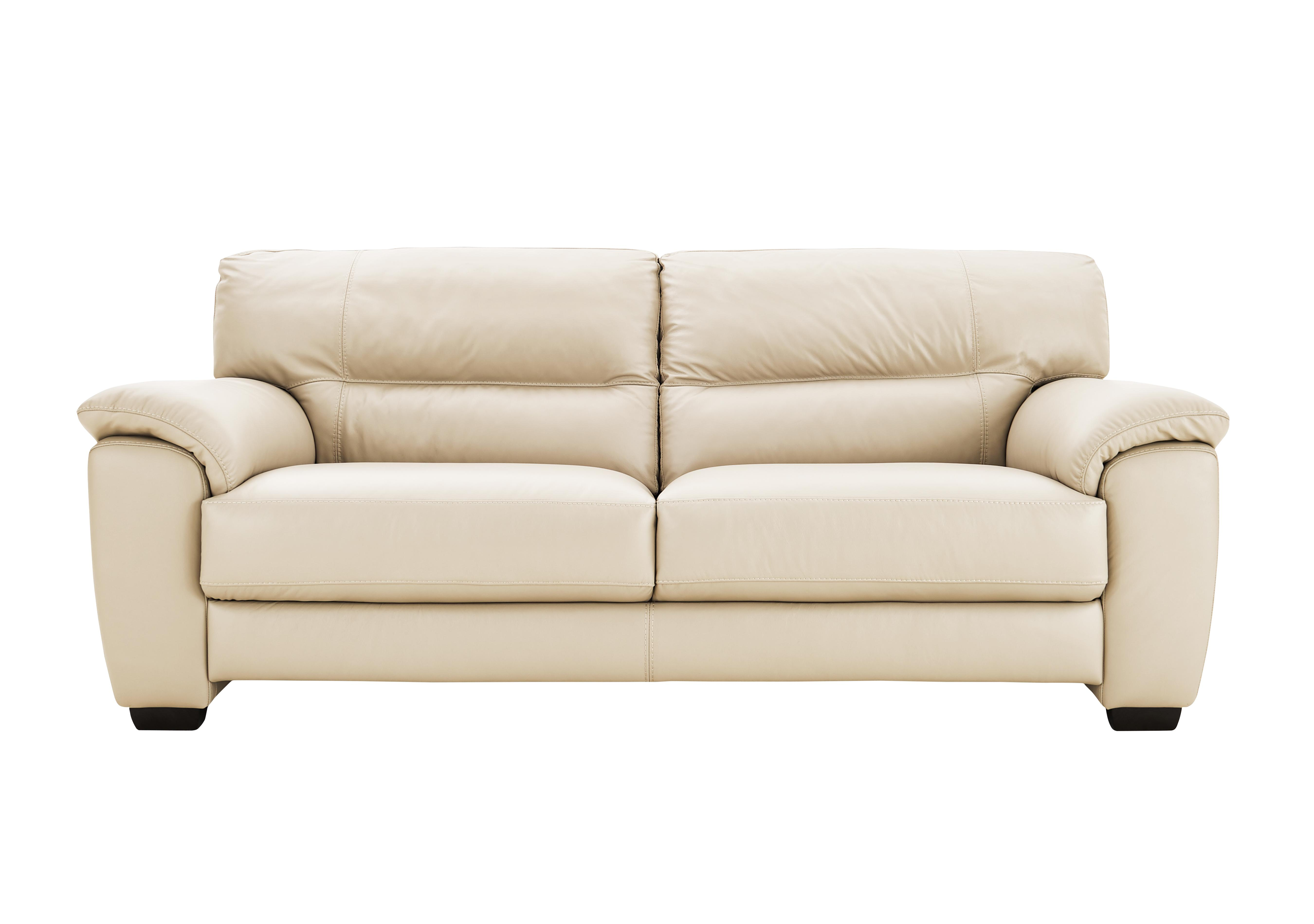 World Of Leather Shades 3 Seater Leather Sofa