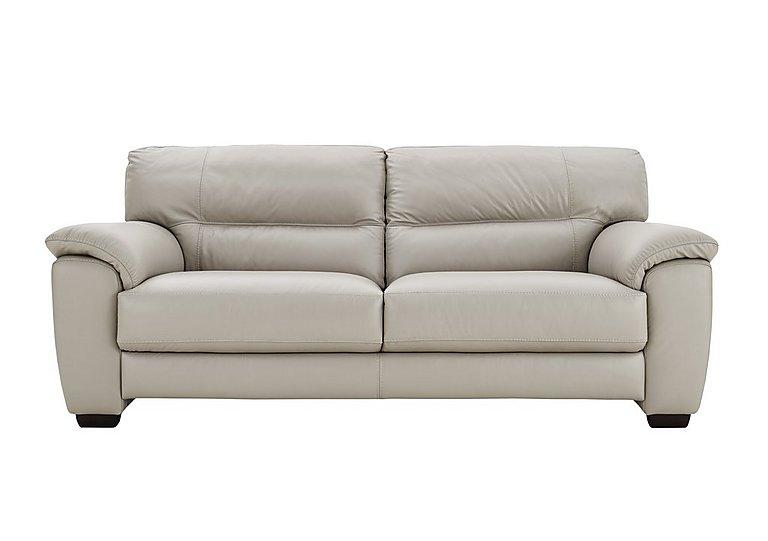 Charmant Shades 3 Seater Leather Sofa