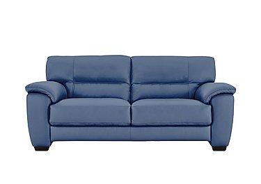 Blue Leather Sofas Furniture Village