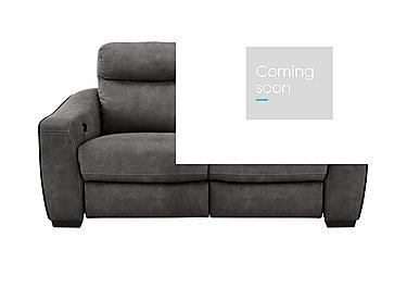 Cressida 2 Seater Fabric Recliner Sofa in Bfa-Raf-R16 Dark Grey on Furniture Village