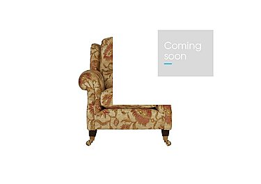 Henley Fabric Armchair in 002266-0054 Cuba Floral Sand on Furniture Village