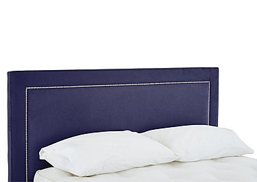 Highfield Headboard in 559 Imperio 601 Purple on Furniture Village