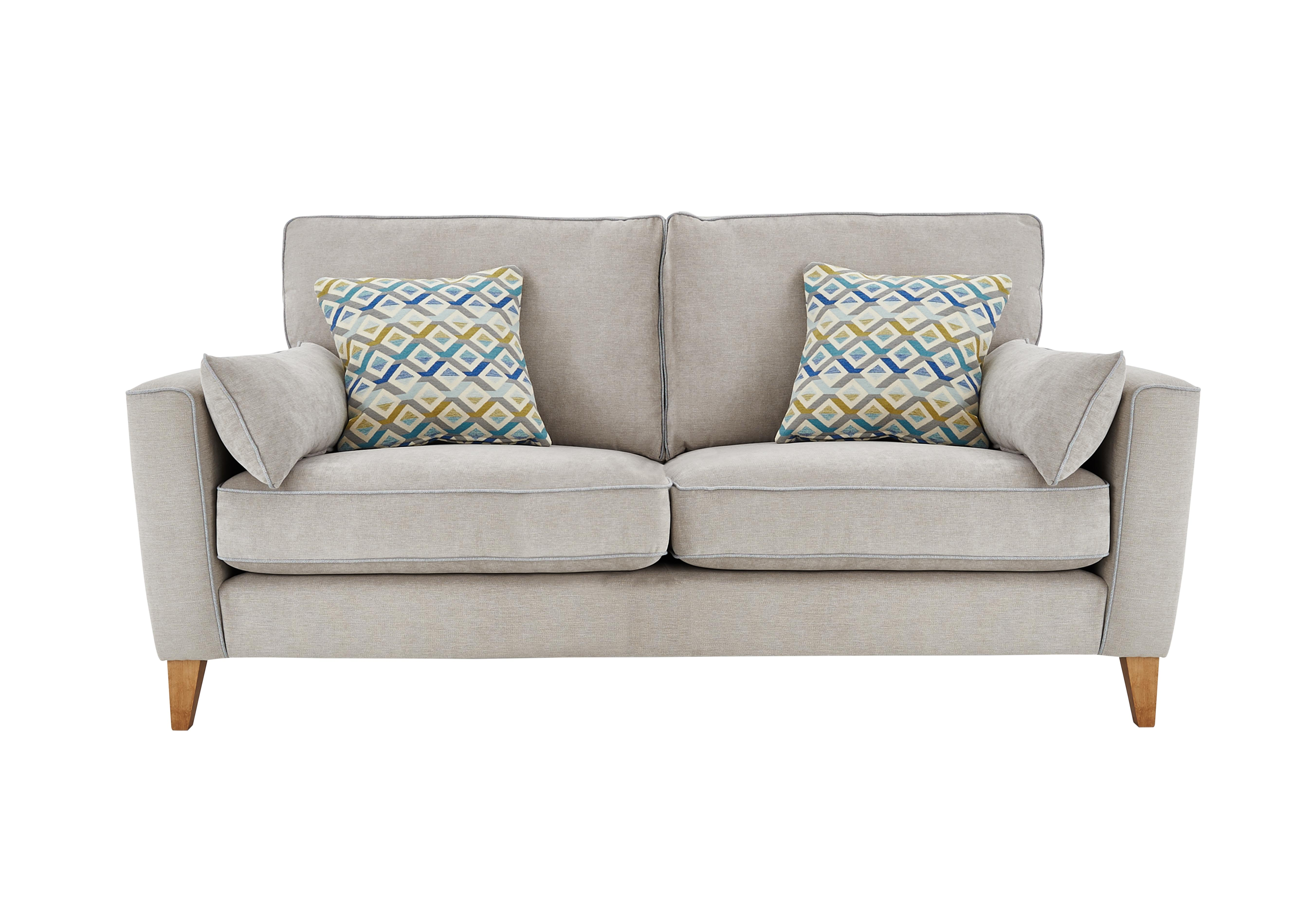 Superior Copenhagen 3 Seater Fabric Sofa