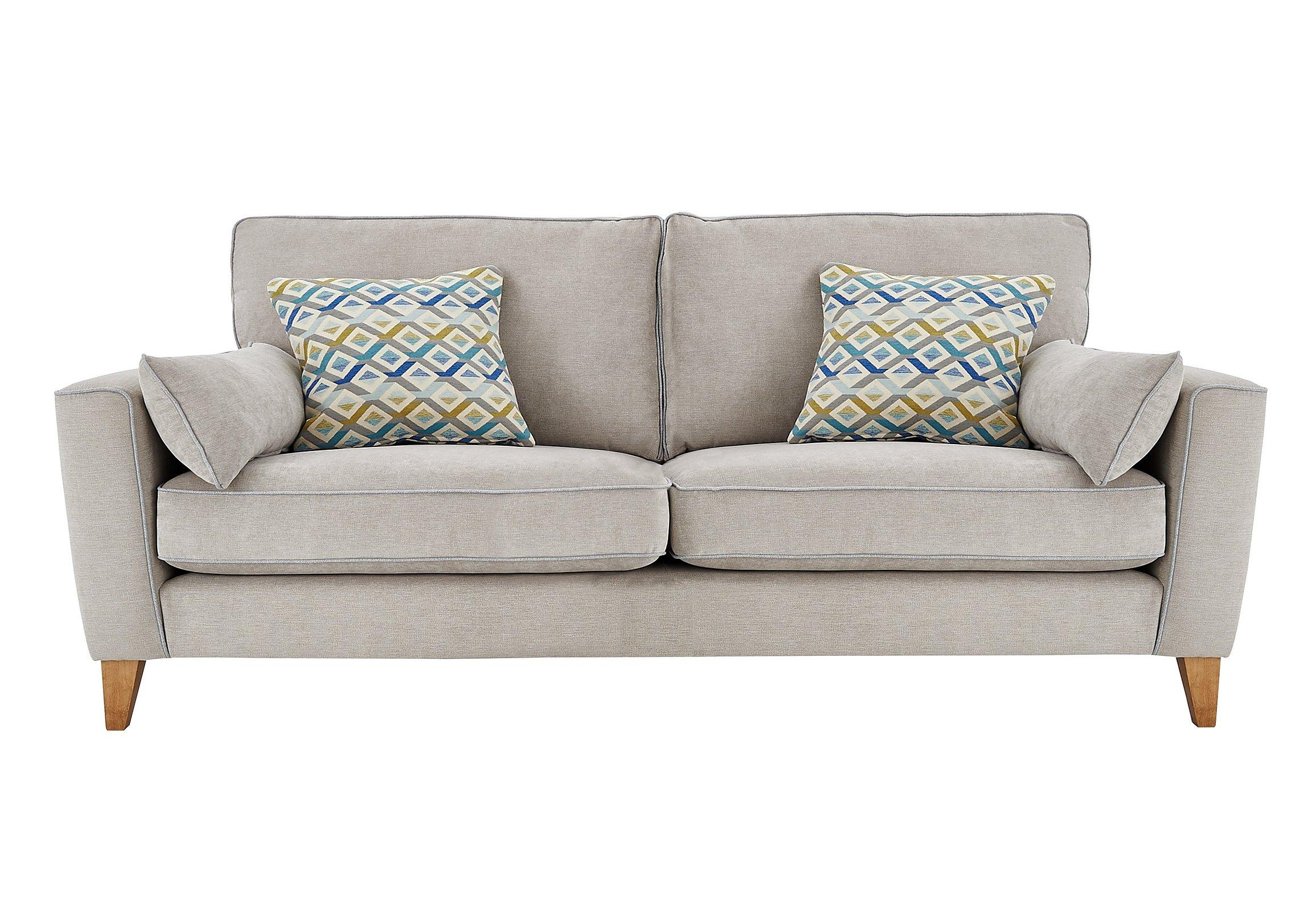 Grey fabric sofa furniture village wiado sofa for Furniture village