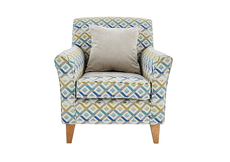 Copenhagen Fabric Accent Armchair Furniture Village