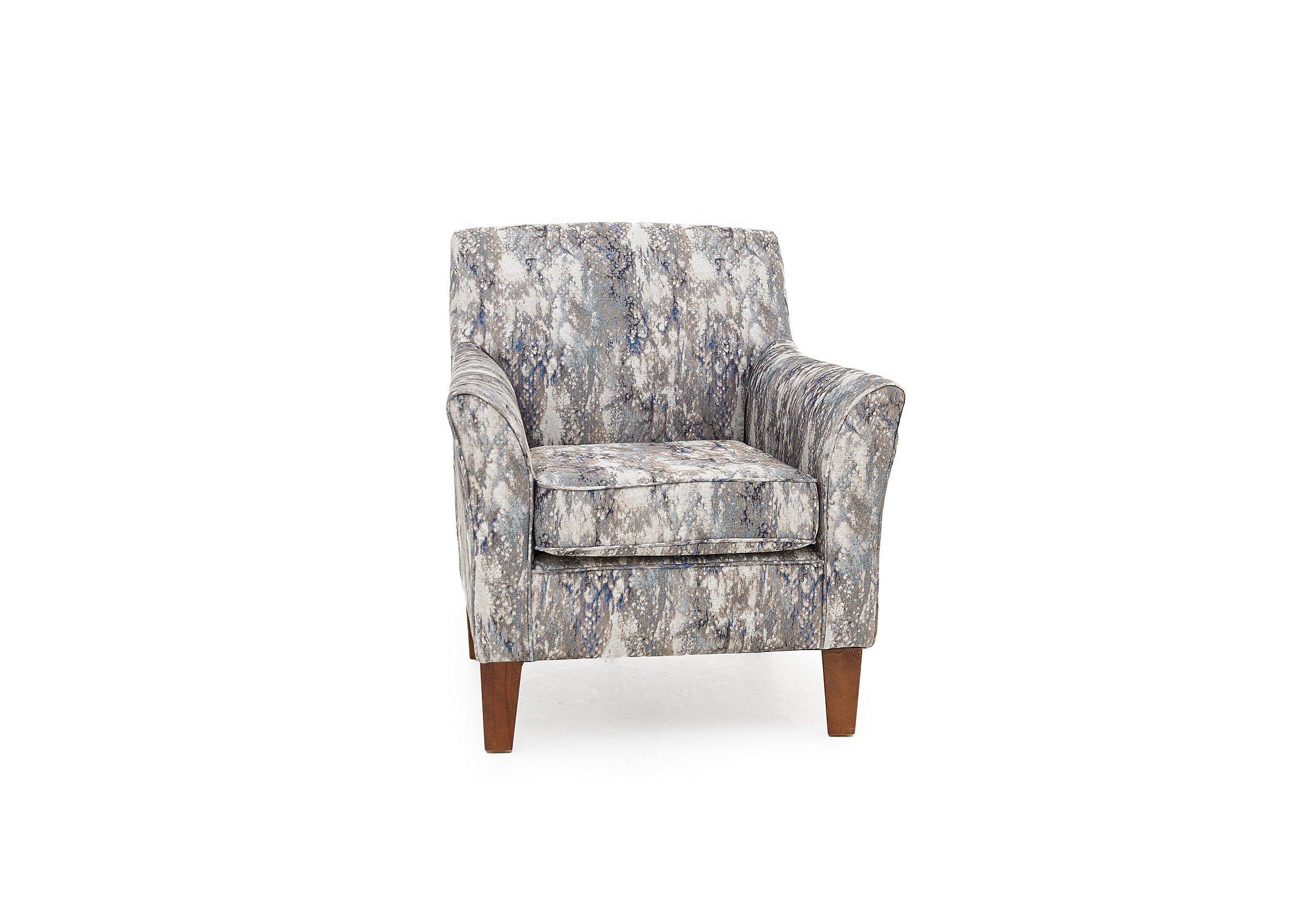 Copenhagen Fabric Accent Armchair
