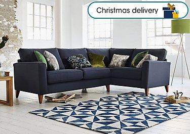 Copenhagen Fabric Corner Sofa