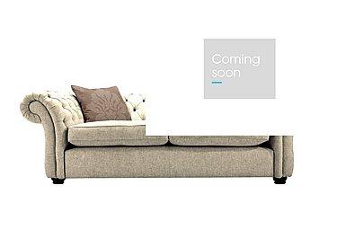 Langham Place 2 Seater Fabric Sofa in Lotus Sand  Dark Feet Col 1 on Furniture Village