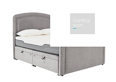 Sia 4000 Divan Set in Naples Silver on Furniture Village