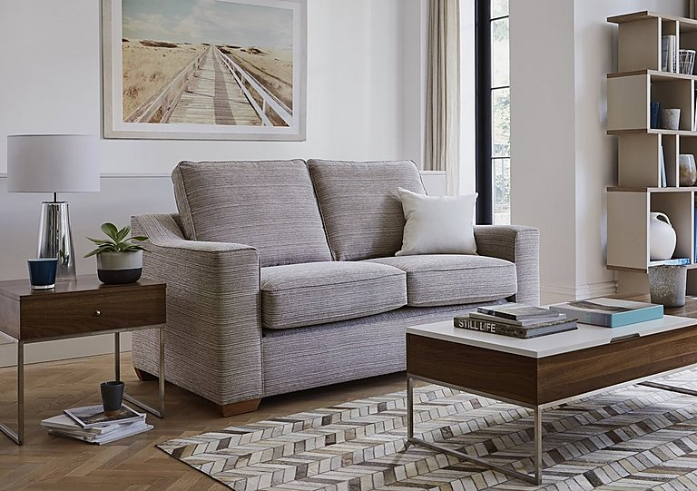 Las Vegas 3 Seater Fabric Sofa