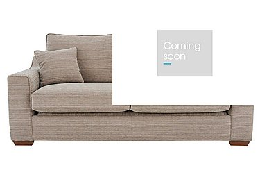 Las Vegas 3 Seater Fabric Sofa in Russon Pebble - Light Ft Col 2 on Furniture Village