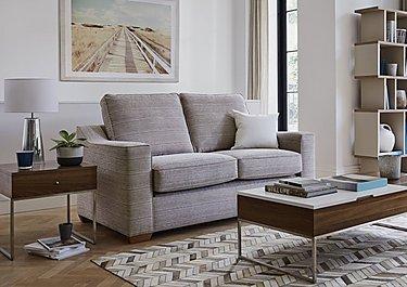 Las Vegas 3 Seater Fabric Sofa Bed in  on Furniture Village