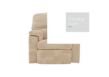 Chloe Fabric Recliner Armchair in C020 Checkers Oyster on Furniture Village