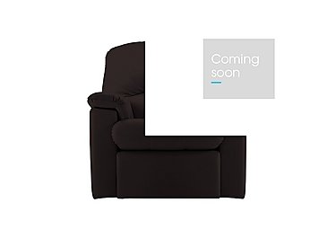 Chloe Leather Recliner Armchair in P200 Capri Chocolate on Furniture Village