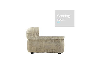 Chloe Fabric Footstool in B431 Lydia Linen on Furniture Village