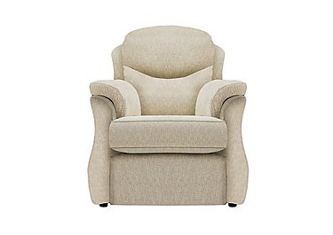 Florence Fabric Lift and Rise Armchair in C932 Rush Sand on Furniture Village