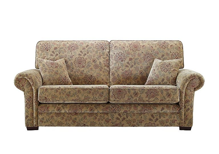 Jasmine 3 Seater Fabric Sofa in C208 Coniston Antique on Furniture Village