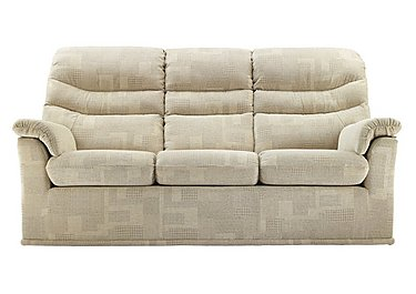 Malvern 3 Seater Fabric Recliner Sofa in B430 Lydia Multi on Furniture Village