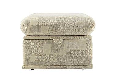 Malvern Fabric Storage Footstool in B430 Lydia Multi on Furniture Village