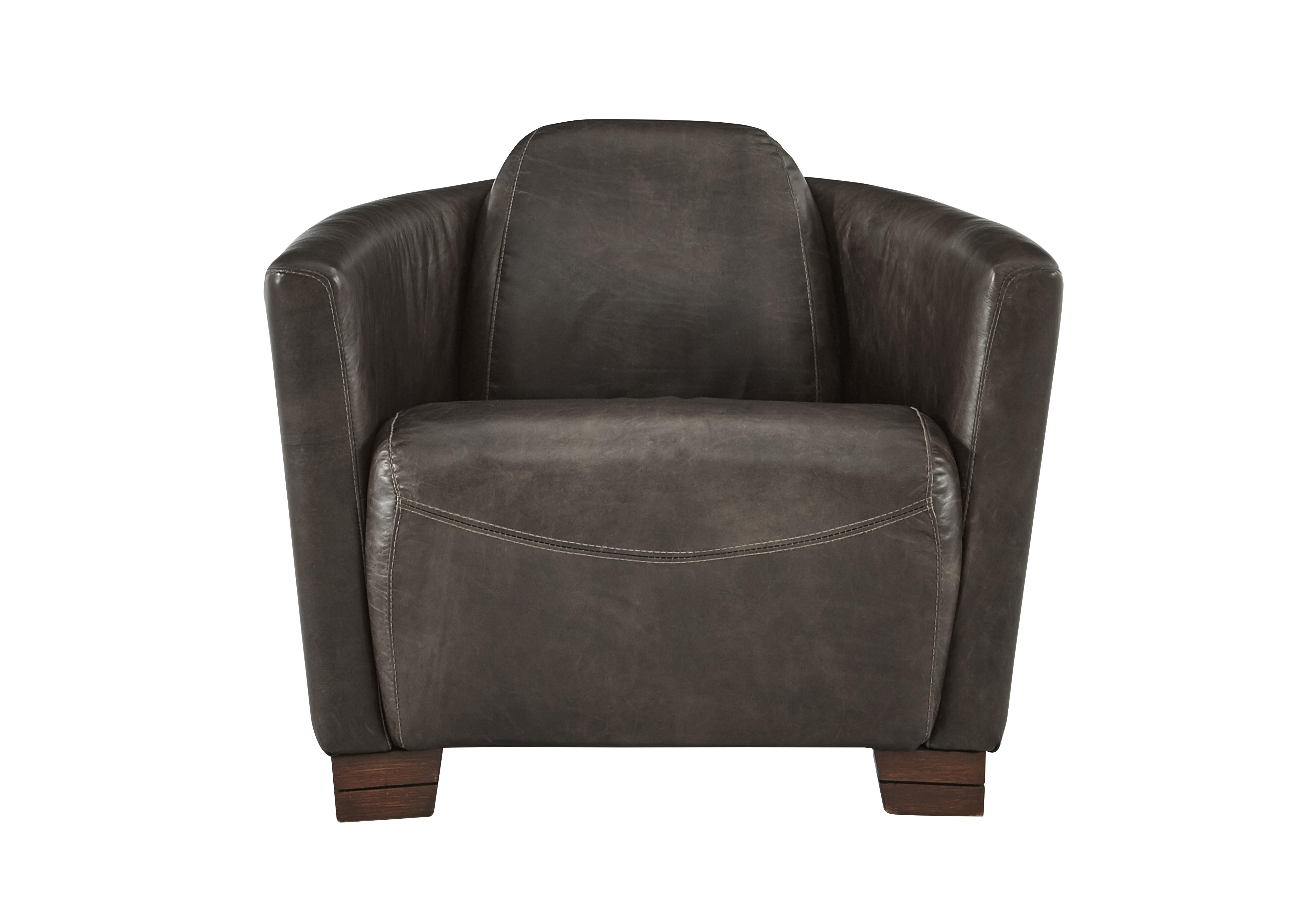 halo huxley leather armchair