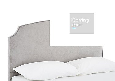 Ana Headboard in Naples Silver on Furniture Village