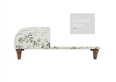 Diversity Fabric Footstool in Rippon Natural Lo on Furniture Village