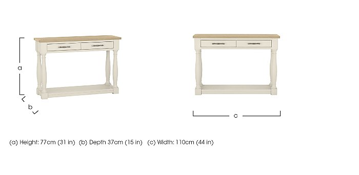 Pierre Console Table in  on Furniture Village