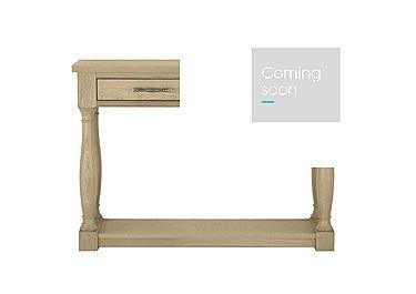 Pierre Console Table in Oak on Furniture Village