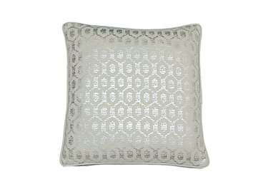 Honeycombe Cushion in Green on Furniture Village