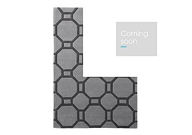 Olly Rug in Grey on Furniture Village