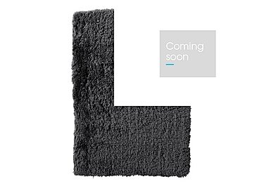 Polar Rug in Charcoal on Furniture Village