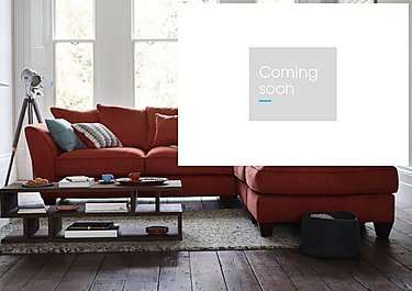 Tangier Fabric Corner Sofa in  on Furniture Village