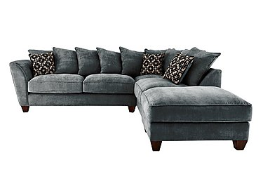 Grey Fabric Corner Sofas & Chaise Sofas - Furniture Village