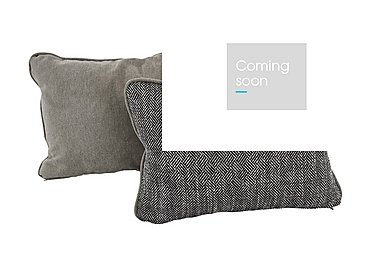 Diversity Fabric Bolster Cushions in Brooklyn Grante/Cosmo Mist on Furniture Village