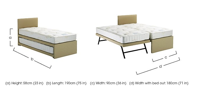 Guest Bed Combination Set in  on Furniture Village