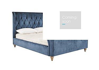 Cheltenham Bed Frame in Gardenia Blue/Grey on Furniture Village