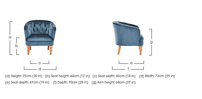 Cheltenham Chair in  on Furniture Village