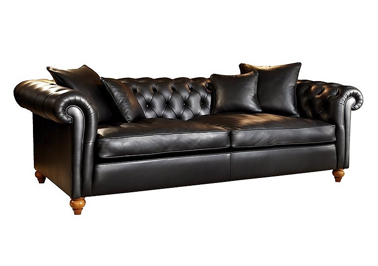 Curzon 4 Seater Leather Sofa Duresta Furniture Village