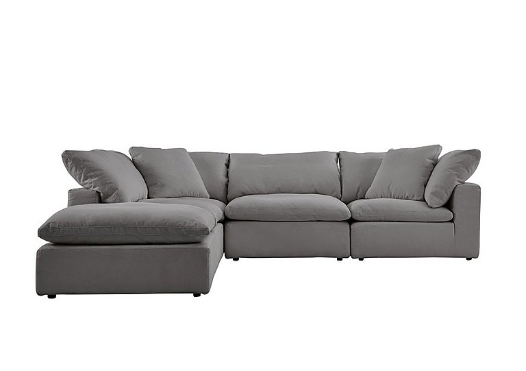 Cloud 5 Piece Corner Sofa Including Footstool