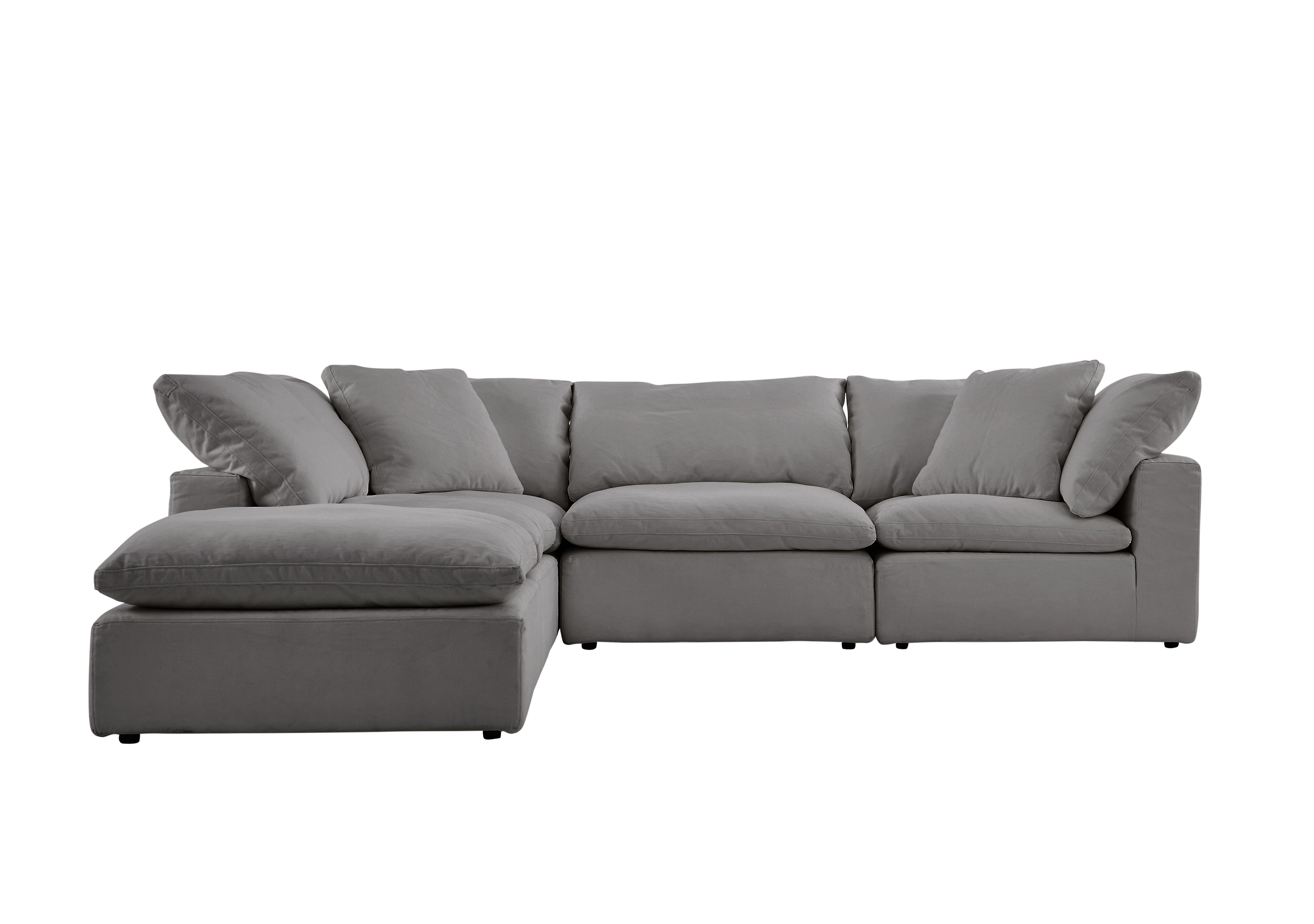 Cloud 5 Piece Corner Sofa including Footstool Halo Furniture
