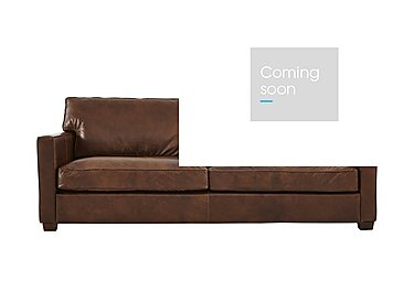 Fulham Broadway 3 Seater Leather Sofa in Antique Whisky Ao on Furniture Village