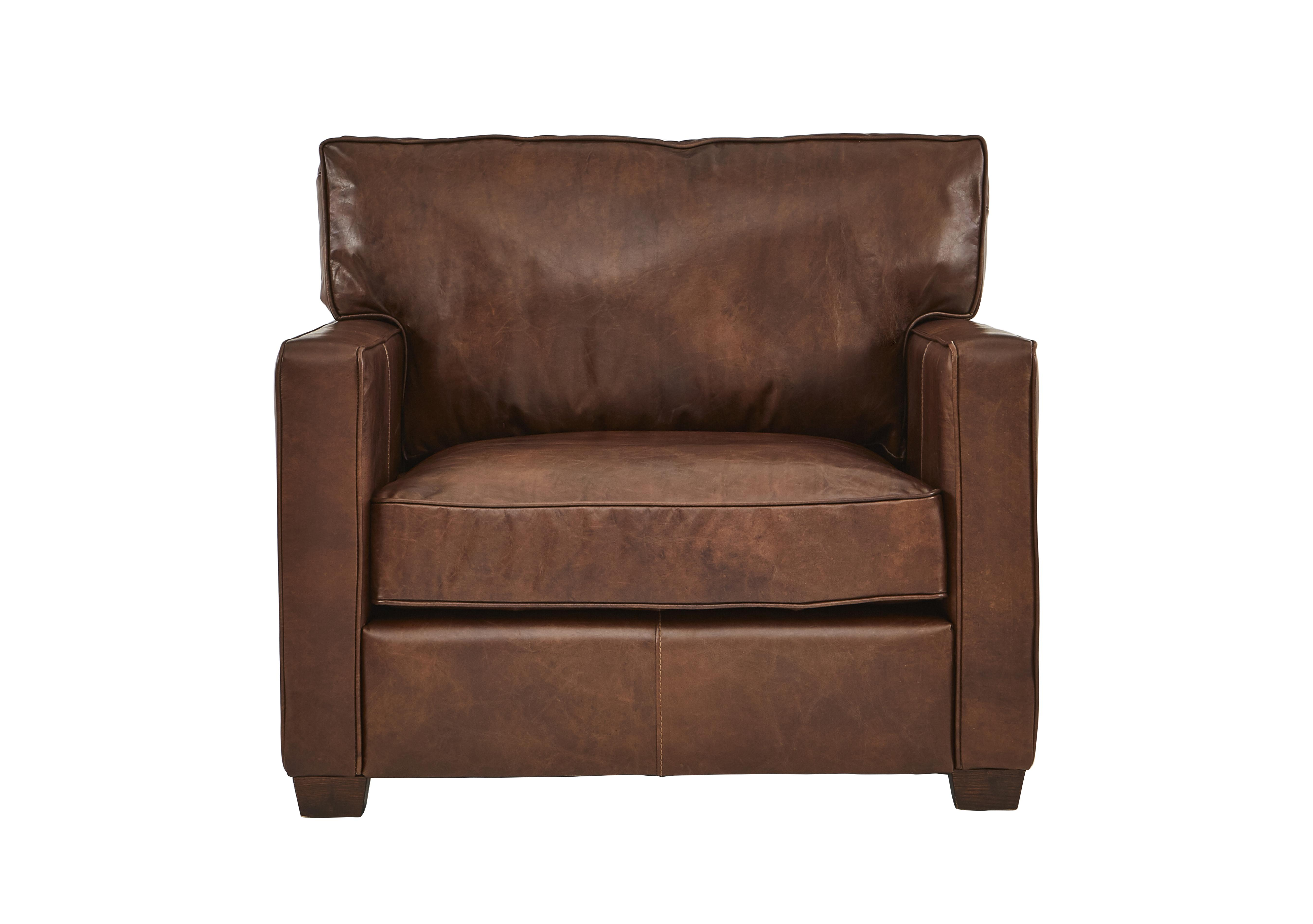 halo fulham broadway leather armchair