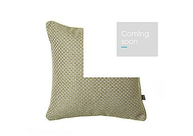 Chester Cushion in Green on Furniture Village