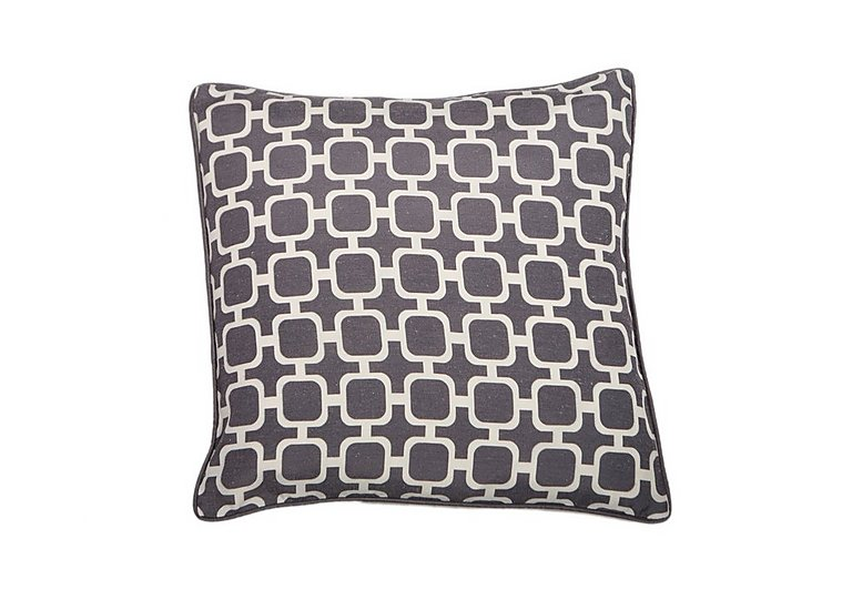 Chain Cushion in Grey on Furniture Village